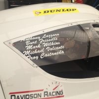 Davidson drivers RCR Eagle